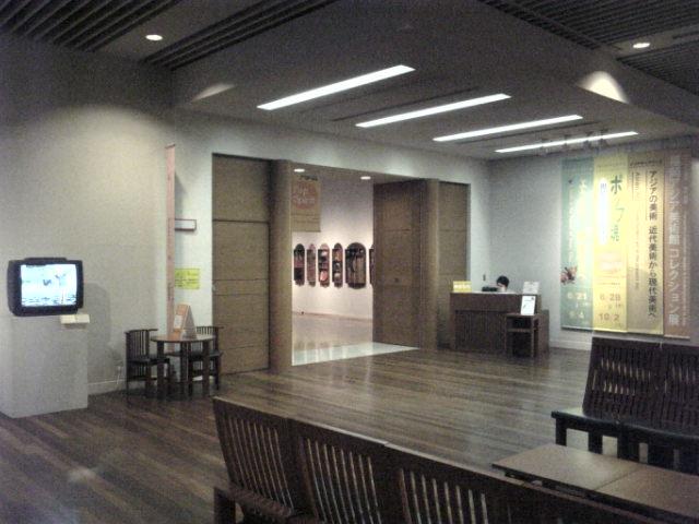 福岡アジア美術館。