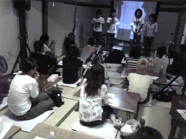 AAF学校in別府、三日目。