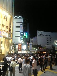 渋谷、謎。