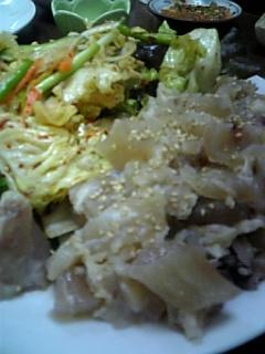 韓国家庭料理「コバウ」。