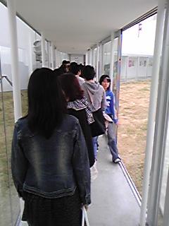 十和田市現代美術館は30分待ち!!