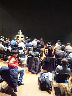 「アサヒ・アート・フェスティバル2009」ネットワーク会議、二日目。