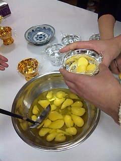 タイのお菓子:トーン・ヨー。