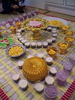 タイのお菓子:いろいろ。