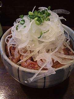 フラヌールのステーキ丼。
