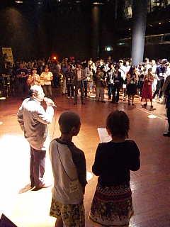 「アサヒ・アート・フェスティバル2009」グランドオープン・パーティ。