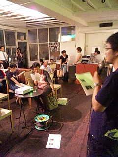 OYOYO@札幌。柴田さんのトーク。