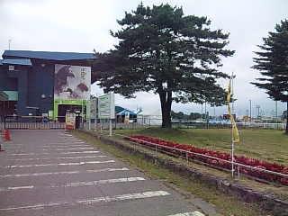 帯広競馬場。