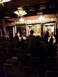 「カレース・モチオの世界」@東本願寺札幌別院 本堂。
