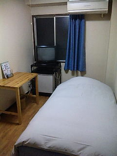 西成・ホテル中央。