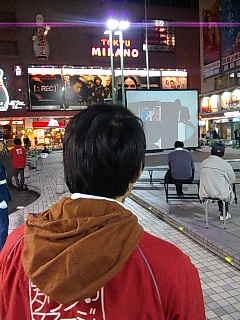 「コミュニティアート映像祭in歌舞伎町」、拡張中。
