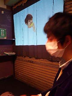 「コミュニティアート映像祭in京島」、Nam Hyojun。