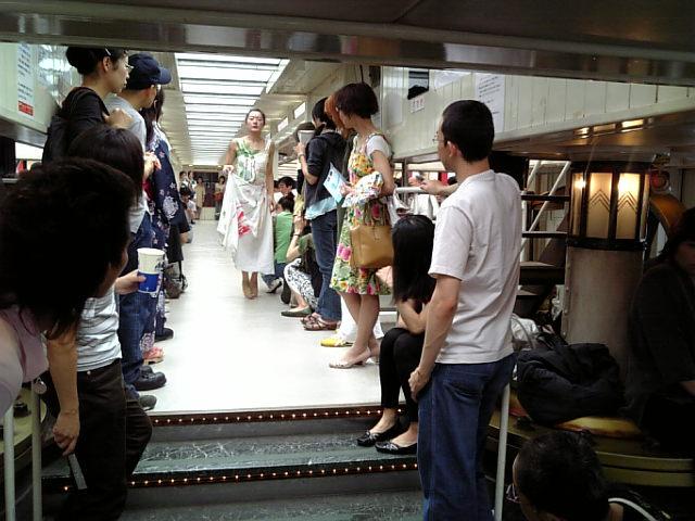 水上アートバス 浅草→日の出便。